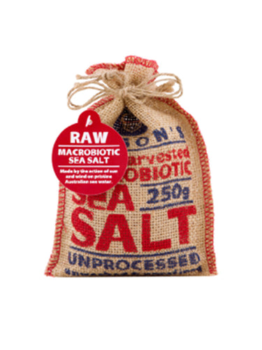 Macrobiotic Raw Sea Salt 250g