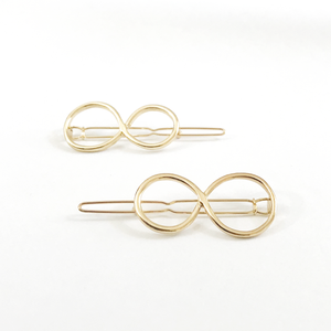 GOLD TIE HAIR PIN