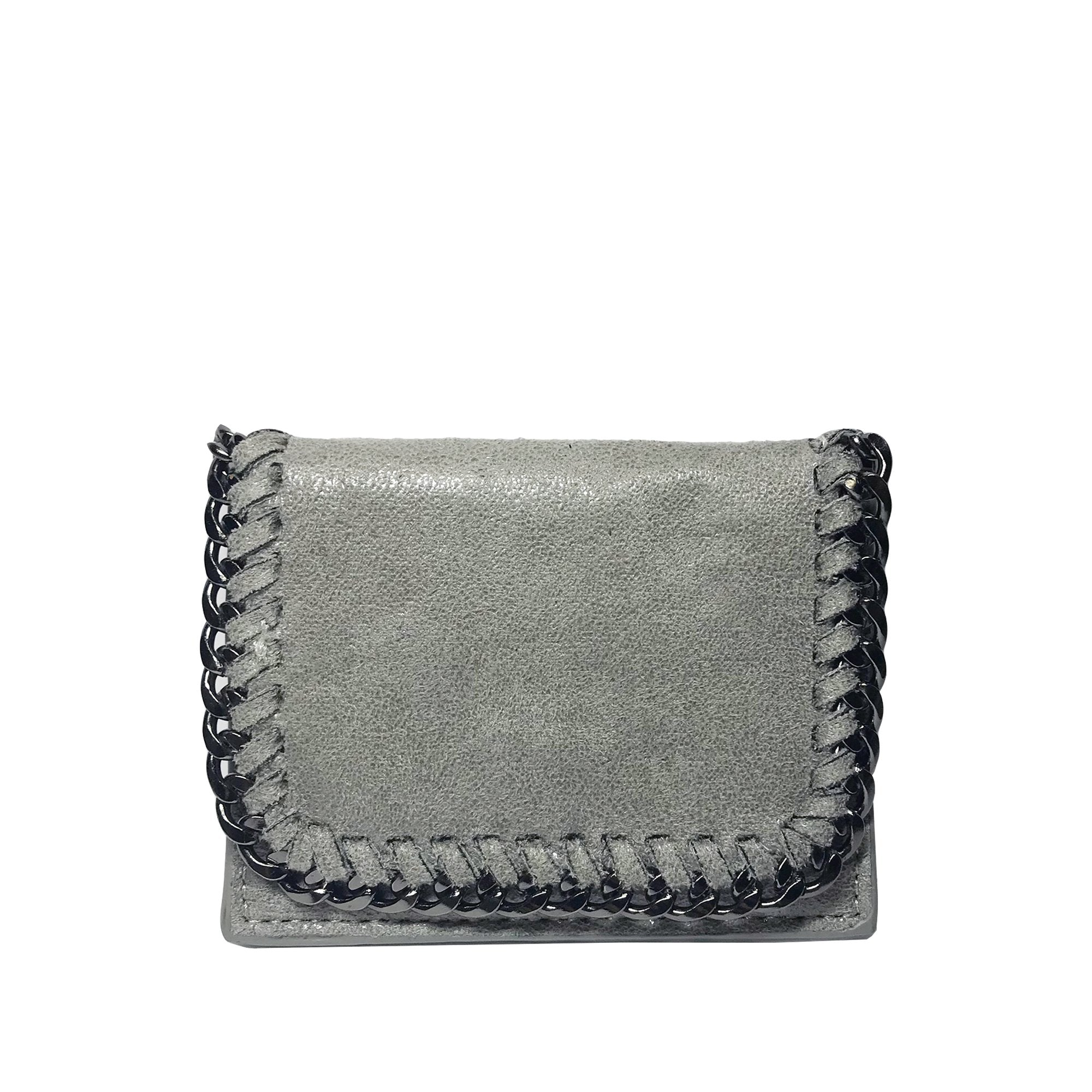 LIGHT GREY CARD CASE