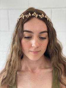 'Jasmin' Flower Crown - G&E BOUTIQUE