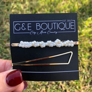 'Gina' Hair Pin Pack - G&E BOUTIQUE