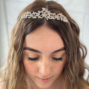 Flower Tiara - G&E BOUTIQUE