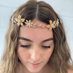 Floral Headpiece - G&E BOUTIQUE