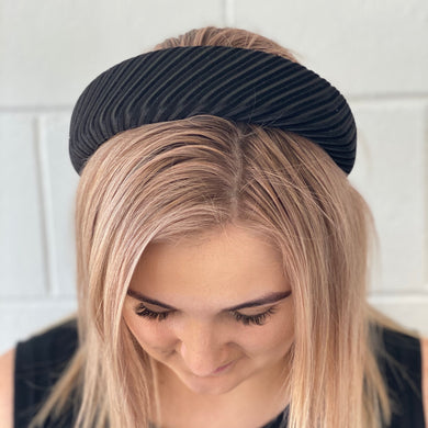 Striped Velvet Headbands - G&E BOUTIQUE