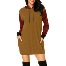 Anarchae Print Hoodie Mini Dress