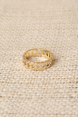 Linked Gold Ring