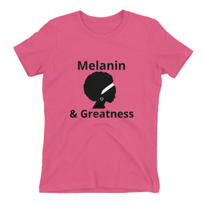 Melanin & Greatness T-shirt