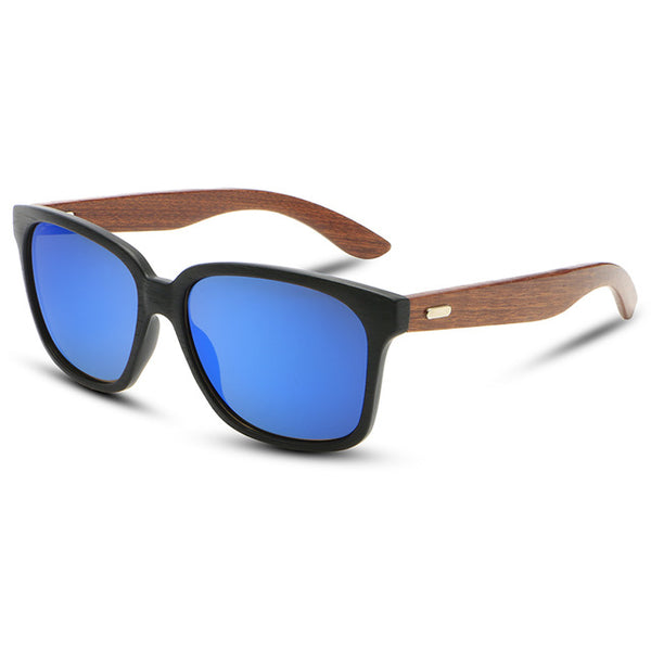 Polarized Wooden Framed Sunglasses UV400 - Why Wood'nt you? - InterSurfing