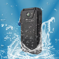 Waterproof Solar Charger Power Bank - Put it on your backpack, charge your phone and a friend's - InterSurfing