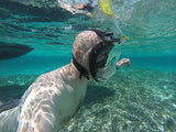 Adventure Mask and Snorkel with GoPro Mount - No more saltwater in your eyes or mouth - InterSurfing