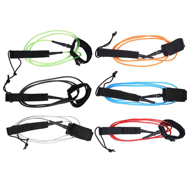 6ft Surfboard Leash - 6 colour options - InterSurfing