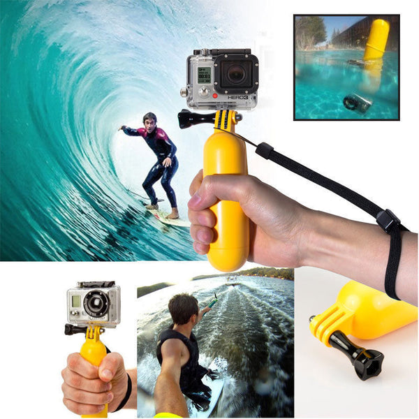 GoPro Floating Hand Grip - Even surf heroes drop their GoPros