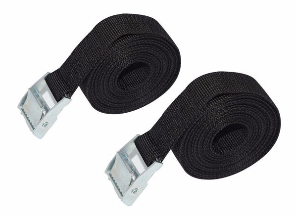 2 x 3 Meter Car Roof Straps - Keep those boards down - InterSurfing