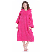 Hooded Surf Poncho Towel - No more flashing