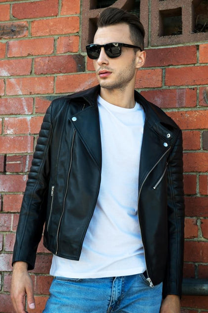 Men's leather jackets handmade in Australia