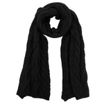 Avery Scarf - Jet Black