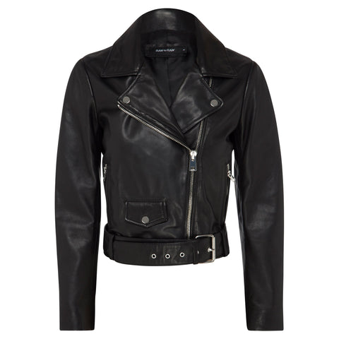 Billy Biker Jacket - Jet Black