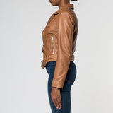 Billy Biker Jacket - Tan