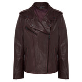 Chevron Jacket  - Mulberry