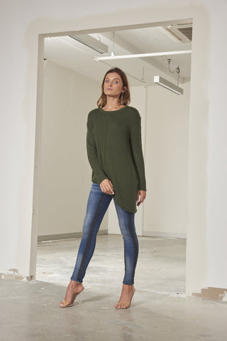 Charlotte loose fit comfort knit