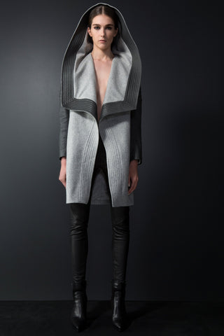 Aria Coat - Marl Grey