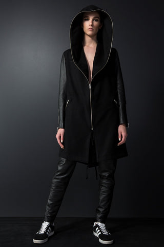 Everleigh Coat - Jet Black