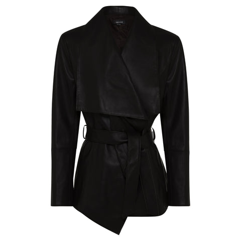 Mara Coat  - Jet Black