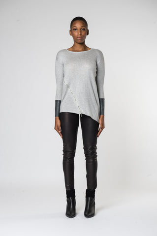 Marissa  top Grey Front