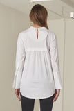 Madeline soft european stretch cotton top