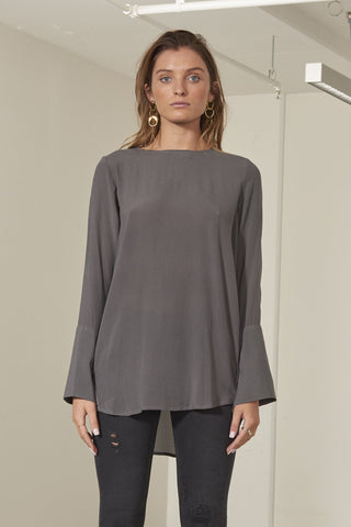 Addison european silk top
