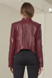 Maddox Bomber-style Jacket, with curved back hem