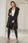 Janelle loose boyfriend cut coat