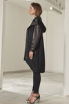 Trinity long line fine wool coat