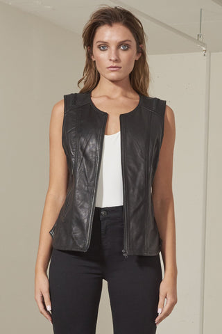 Derika fitted slim line vest
