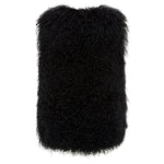 Serenade Shearling Vest - Jet Black