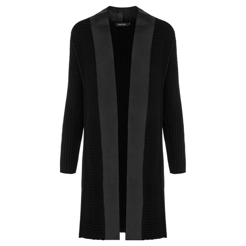 Tarryn Knit Cardigan - Jet Black
