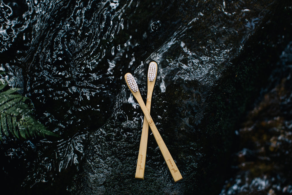 Bamboo Toothbrush buy at Thistle & Roo
