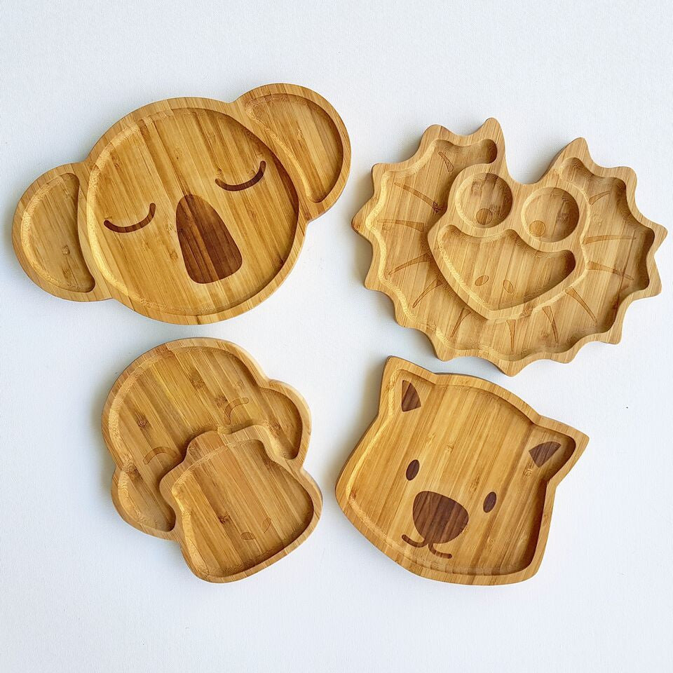 Karri the Koala and friends, Bamboo Plate by Emondo Kids, Buy at Thistle & Roo