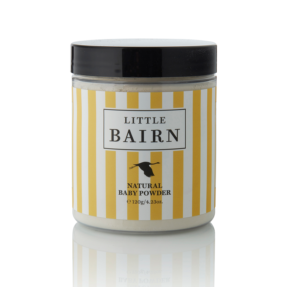 Little Bairn Natural Baby Powder. Buy at Thistle & Roo.
