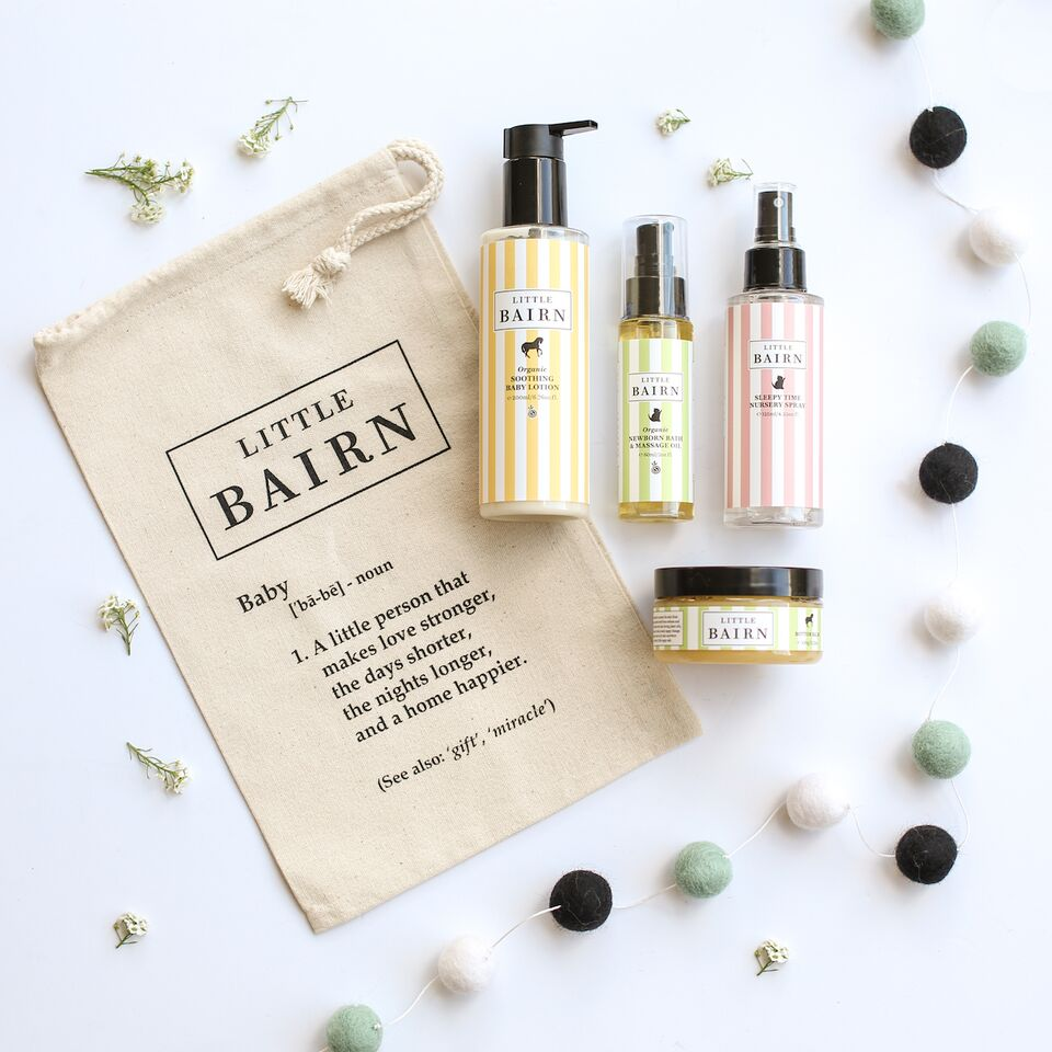 Little Bairn Organic Gifts for the perfect baby shower. Buy at Thistle & Roo.