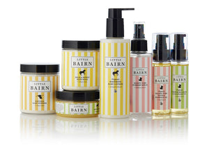 Little Bairn Organic Pamper Products. Buy at Thistle and Roo.