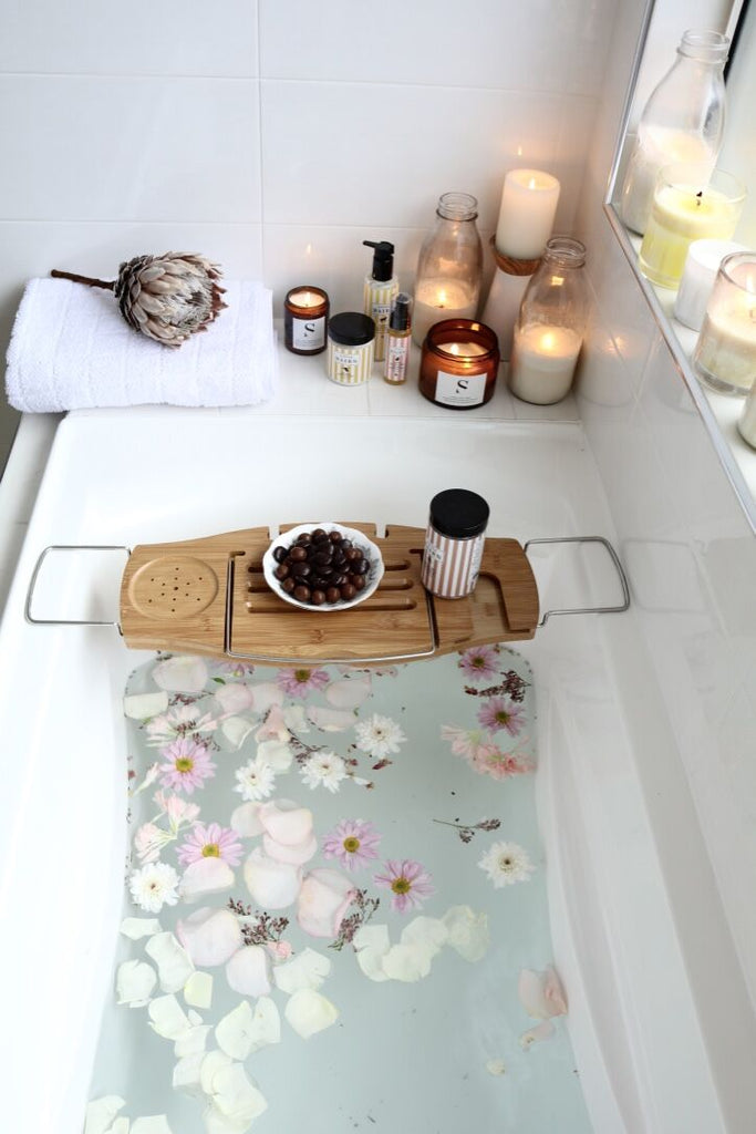 Relaxing Bath. Little Bairn Pamper Organic Products for Mum. Buy at Thistle & Roo.