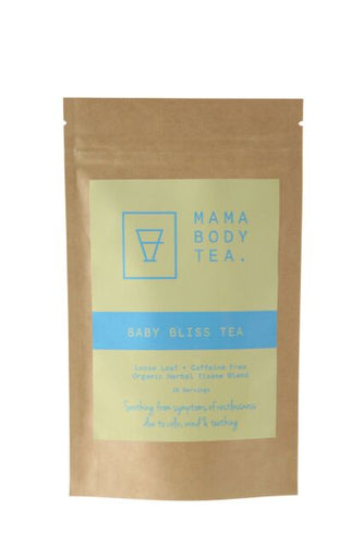 Baby Bliss Herbal Tea. Available to buy at Thistle & Roo in Perth.