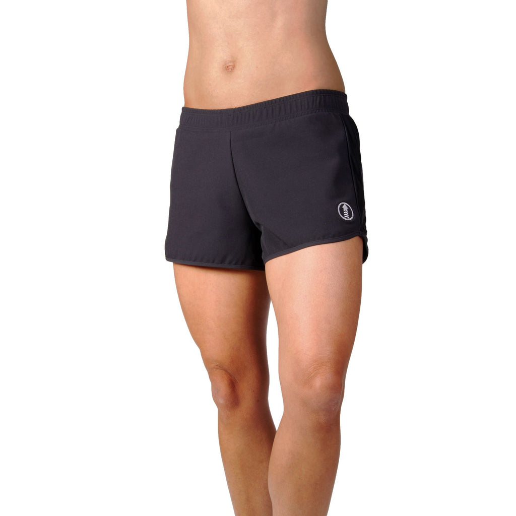 women's workout shorts, RPET clothing, made in Australia, sustainable sportwear, eco-friendly clothing, women's gymwear