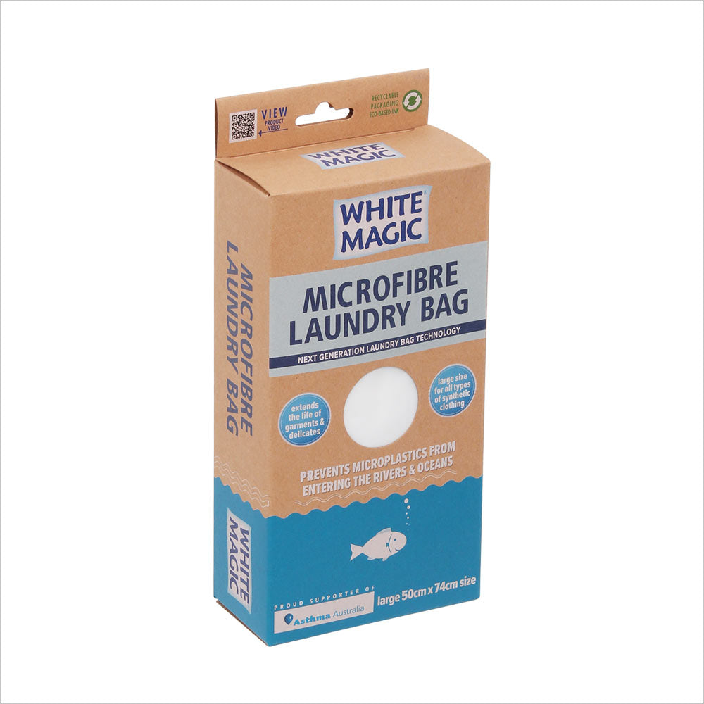microplastics in laundry, microfibre wash bag, eco-friendly washing
