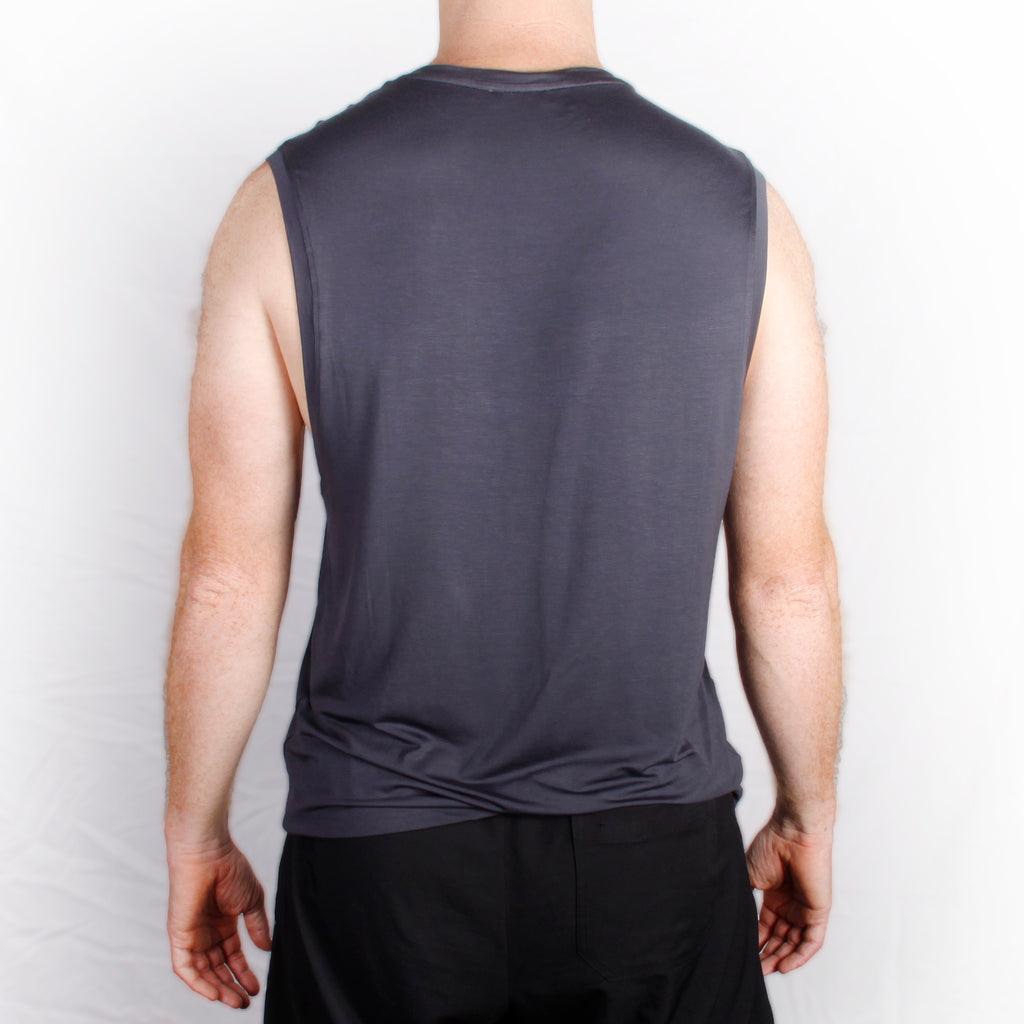 Charcoal Unisex Muscle Tees