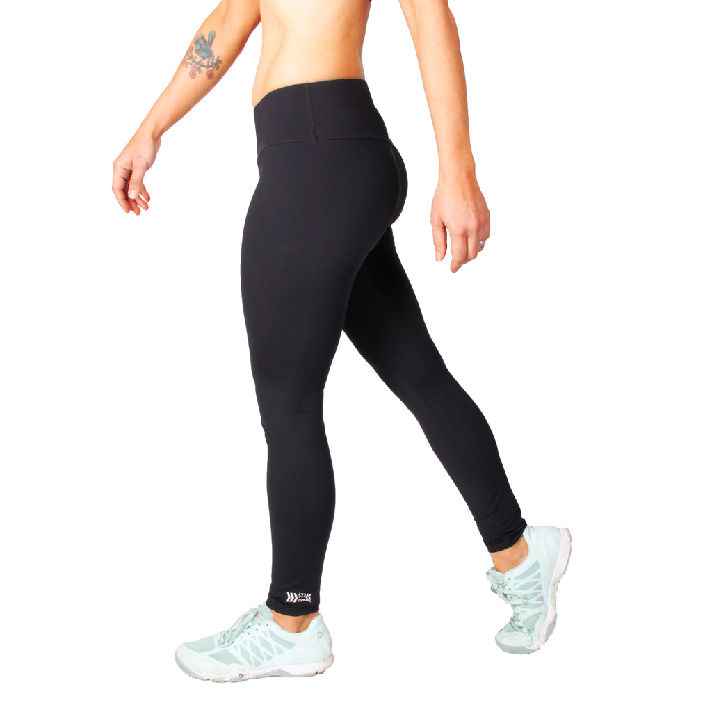 women's workout tights, women's long tights, RPET clothing, Australian made sportswear
