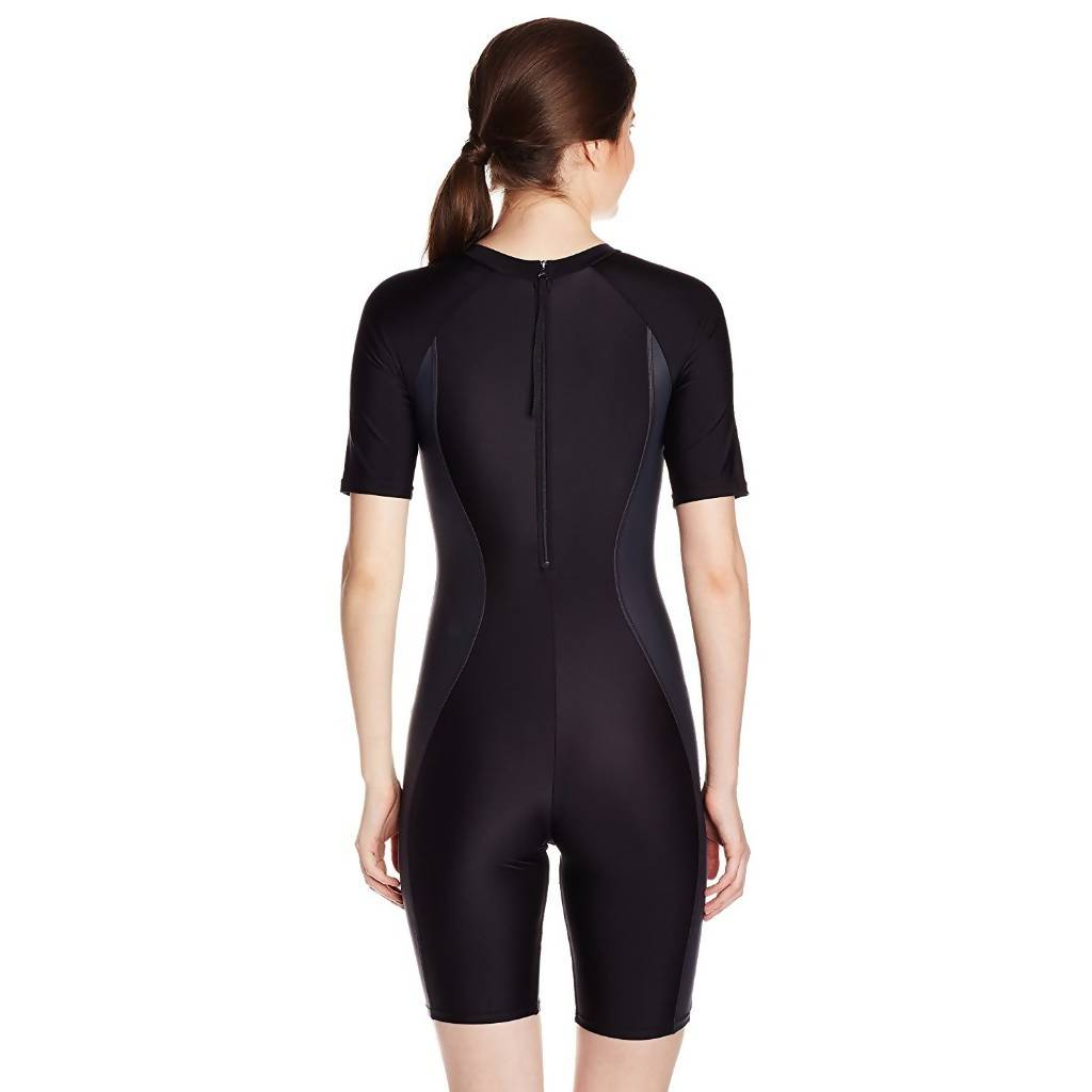 SPEEDO AF ESSENTIAL SPLICED KNEESUIT - BLACK/OXID GREY/BLACK