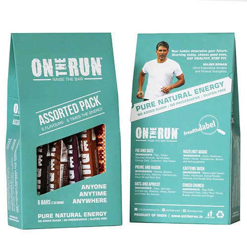 On The Run - Assorted (Pack Of 6)