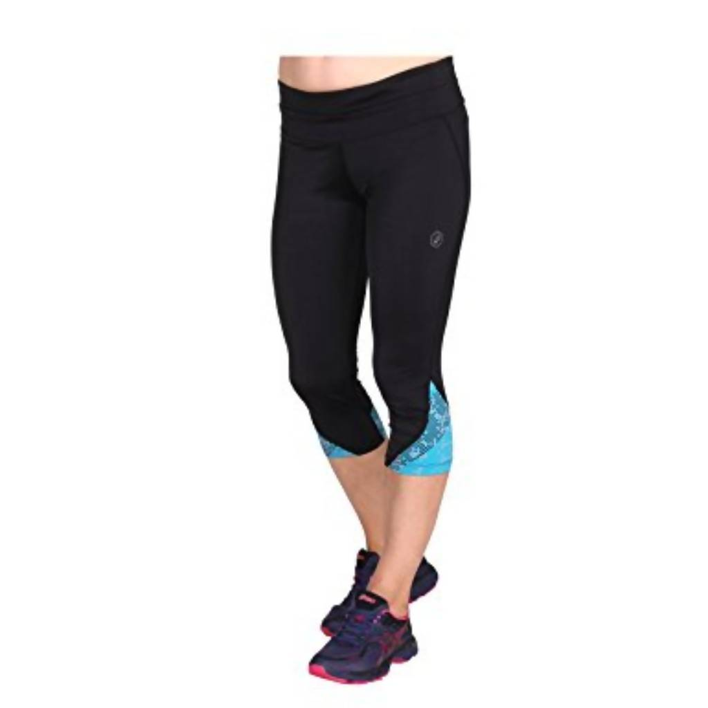 RACE KNEE TIGHT - LITE STRIPE ARCTIC AQUA